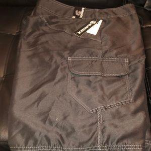 Burnside Swim - BURNSIDE Black pocketed Shorts Swimwear Mens